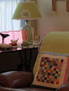 Brenda's lamp she made!