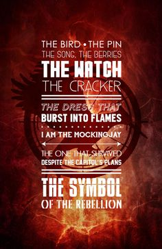 The Hunger Games Catching Fire Symbol of the by watchitDesigns $14.00