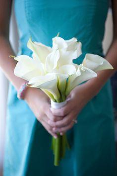 wedding flowers bridesmaids