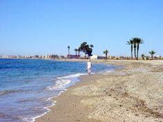 Roquetas - a beach between Roquetas & Aguadulce  ***photo: Robert Bovington #Roquetas de Mar article: http://www.unique-almeria.com/roquetas-de-mar.html