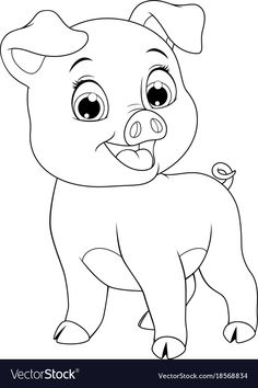 45 Trendy baby animals vector coloring pages Farm Animal Coloring Pages, Cute Coloring Pages, Cartoon Coloring Pages, Coloring Pages For Kids, Coloring Books, Kids Colouring, Free Coloring, Baby Animal Drawings, Art Drawings For Kids
