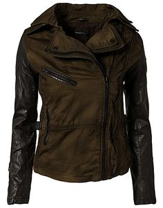 Dagny Jacket - Rock'n Blue - Khaki - Jackets and coats - Clothing - NELLY.COM UK