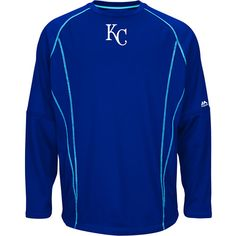 Kansas City Royals On-Field Practice Pullover Fleece by Majestic Athletic - MLB.com Shop