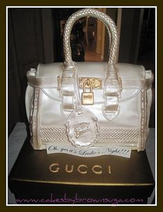 Louis Vuitton shoes and purse Birthday Cakes | Gucci Bag cake - Spring 2011 by BrownSuga'