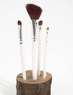 Click Pic for 34 DIY Makeup Storage Ideas   DIY Brush Stand    Small Closet Organization Ideas   DIY Makeup Organizer Ideas