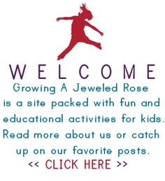 Summer Fun - Chalk Rockets | Growing A Jeweled Rose