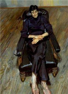 Bella - Lucian Freud (British: 1922- 2011)