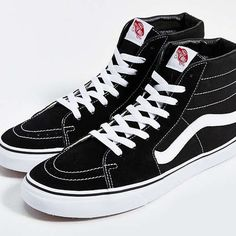 9d36bb9509 Vans Sk8 Hi Classic Sneakers Awesome sk8 hi sneaks. Lightly worn and some  minor scuffs