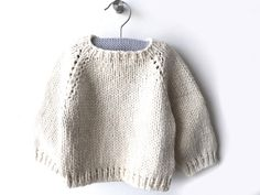 Brei Baby, Crochet Pattern, Knit Crochet, Baby Barn, Sweater Knitting Patterns, Baby Cardigan, Drops Design, Knitting For Kids, Baby Gifts