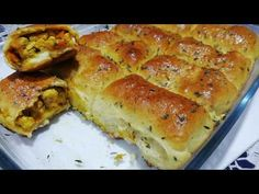 Quick and Easy Savory Recipe 👌 Bread Rolls with Chicken and Onion Bread Recipes, Snack Recipes, Cooking Recipes, Plats Ramadan, Indian Food Recipes, Ethnic Recipes, South Indian Food, Breakfast Cookies, Sandwiches