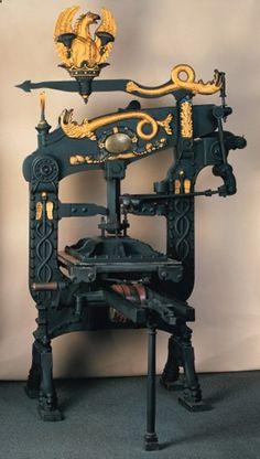 Columbia-Iron-Printing-Press, circa 1824
