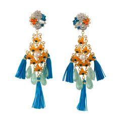 Fiesta Campanilla Earrings by Mercedes Salazar