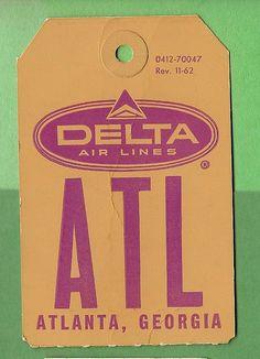 Delta Air Lines - ATL Atlanta - 1962 | Flickr - Photo Sharing!