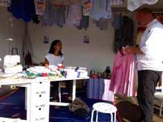 Our mobile #sewing #workshop