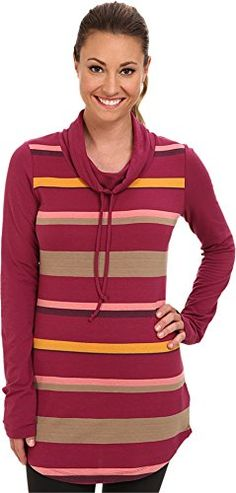 Lole Principle Tunic  Womens Beaujolais Multi Small * Click image to review more details.