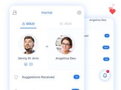 Profile match mobile app