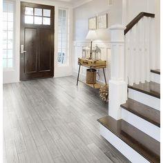 tile flooring ideas bathroom floor shop style selections eldon white wood look porcelain floor tile 1113 best flooring images on pinterest in 2018