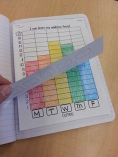 Building Fact Fluency in Kindergarten with an Interactive Math Notebook. They're not just for big kids anymore! :) $