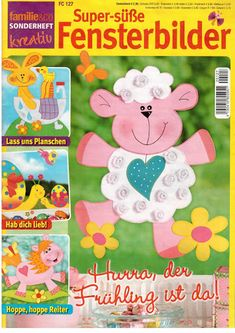 2013. március 12. - Katalin Jenei - Picasa Webalbumok Crafts To Make, Crafts For Kids, Sheep Crafts, Magazine Crafts, Web Gallery, Patch Aplique, Magazines For Kids, Painted Books, Tole Painting