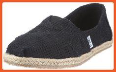 b7e1957d90811e Toms Womens Classics Black Freetown 001100B12-Bfree 9.5 - Flats for women (  Amazon
