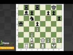 Chess Tactics: Back Rank Checkmate - YouTube