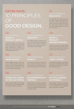 Dieter Rams: 10 Principles of Good Design
