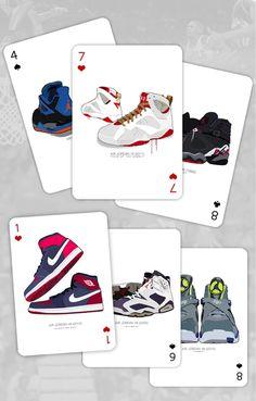 Air Jordan Playing Cards