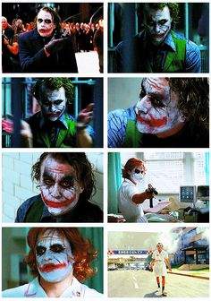 Heath Ledger, the Joker