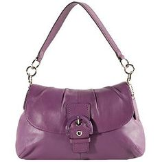 Coach Soho Pleated Leather Flap Shoulder Handbag