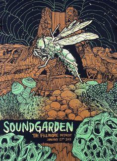 Soundgarden - Shawn K Knight - 2013 ----