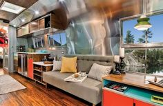 Cool theme of restored airstream trailers : Cool Stunning Restored 1954 Airstream Flying Cloud Travel Trailer Inspiration Awesome Airstream ...