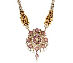 GJF Award Winning Jadau Jewellery | Jadau Necklaces - Chintamanis