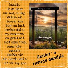 Evening Greetings, Goeie Nag, Goeie More, Afrikaans Quotes, Special Quotes, Sleep Tight, Day Wishes, Good Night, Words