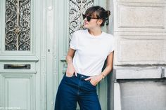 Just before leaving for 3 days of Pukkelpop earlier this week, I wore this ultimate basic outfit for a day full of working, planning and packing. These fab Bershka culottes are my latest acquisitio…