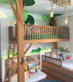 22 Imaginative Kids Jungle Room To Creative Explorer jungle imaginative explorer creative Baby Bedroom, Bedroom Wall, Girls Bedroom, Bedroom Decor, Kid Bedrooms, Wall Beds, 60s Bedroom, Cool Kids Rooms, Creative Kids Rooms
