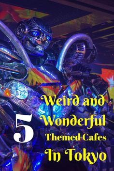 We had some weird and wonderful dining experiences during our trip to Tokyo. Check out our 5 favourite themed cafes in Tokyo.