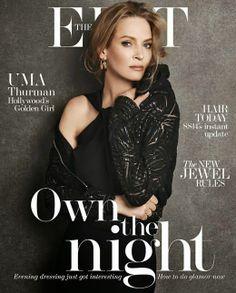 Uma Thurman - The Edit Magazine Cover [United Kingdom] (27 February 2014)