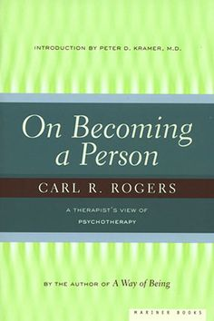 "The late Carl Rogers, founder of the humanistic psychology movement, revolutionized psychotherapy with his concept of ""client-centered th. Therapy Tools, Art Therapy, Date, Books To Read, My Books, Carl Rogers, Humanistic Psychology, Phil Jackson, Spirituality Books"