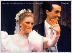 The wedding of Princess Astrid of Belgium and Prince Lorenz, Archduke of Austria-Este