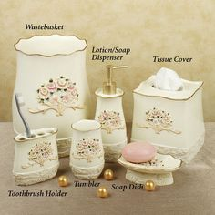 Rosefan Lotion Soap Dispenser