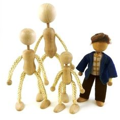 Bendy Rope Doll Body - Large - A Child's Dream Come True