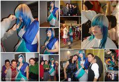 Pokaz Hair Inspirations: Fryzura - Maciej Kubuj, Kostium - Justyna Wiejak, Makeup - Studio Lipińska