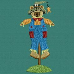 Beary Scarecrows 02