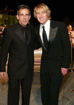Owen Wilson & Ben Stiller: Ben Stiller and Owen Wilson stand at the Starsky and Hutch premeire