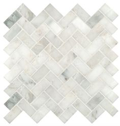 http://www.houzz.com/photos/39360308/Greyish-White-Herringbone-Pattern-Honed-Marble-Mesh-Mounted-Mosaic-Tile-contemporary-mosaic-tile