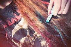 Haar-Tutorial: DIP DYE & Pastel-Hair!
