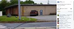 """Truck Smashes Into Building Called """"AnalTech"""", Awful Smells Emerge (For Real)"""