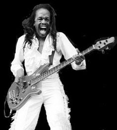 Verdine White:  The bassist for Earth, Wind & Fire and the younger brother of band founder Maurice White. White is known for his high energy and dancing while playing his bass guitar during Earth, Wind & Fire concerts.