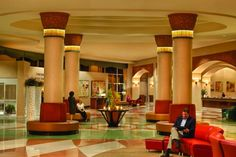 Inside the Rosen Centre Hotel, Orlando FL. Gorgeous hotel and amenities. Definitely staying there again!