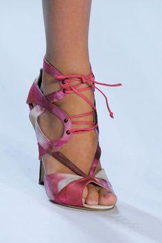 Monique Lhuillier Spring 2013 #Shoes